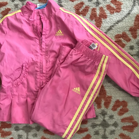 51907c309c26 adidas Other - Adidas Girls Track Suit in Pink